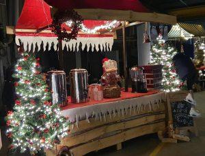 Weihnachtsmarktstand mieten bei Carpe Diem Events aus Selfkant NRW.