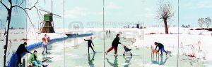 Winter Kulisse Eislaufen zu mieten bei Carpe Diem Events aus Kreis Heinsberg, Selfkant, NRW.