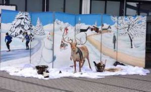 Winterlandschaft Kulisse verleih bei Carpe Diem Events aus Selfkant NRW.