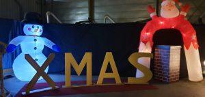 Weihnachtsmann Aufblasbar Bogen verleih bei Carpe Diem Events aus Kreis Heinsberg