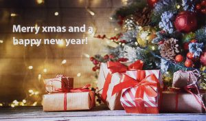 Merry XMAS and a happy new year Kulisse mieten bei Carpe Diem Events aus Kreis Heinsberg NRW.