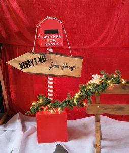 Weihnachts deko Santa`s Mailbox mieten bei Carpe Diem Events aus Kreis Heinsberg