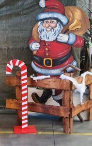 Deko Weihnachtsmann zu  mieten bei Carpe Diem Events aus Selfkant, Kreis Heinsberg.
