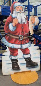 Deko Weihnachtsmann Wunschzettel zu  mieten bei Carpe Diem Events aus Selfkant, Kreis Heinsberg.