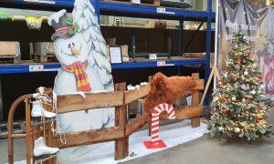 Deko Zuckerstange, weihnachtsdekoration mieten bei Carpe Diem Events aus Selfkant, Kreis Heinsberg.