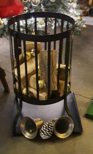 Feuerstelle mit Holz zu  mieten bei Carpe Diem Events aus Selfkant, Kreis Heinsberg.