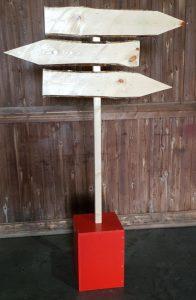 Wegweiser Weihnachtsdeko zu  mieten bei Carpe Diem Events aus Selfkant, Kreis Heinsberg