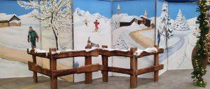Weihnachts Deko Holzzäune zu mieten bei Carpe Diem Events aus Selfkant, Kreis Heinsberg