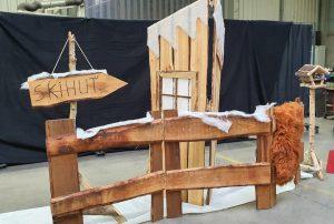 Winterkulisse mit Vogelhaus zu  mieten bei Carpe Diem Events aus Selfkant, Kreis Heinsberg